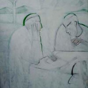עליה, 2002 אקריל. בד. 70x100 סמ'