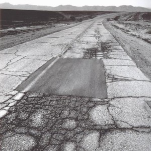A Road in the Negev, 2006 Silver Print