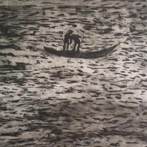 Untitled, 2006 Oil on Cardbord