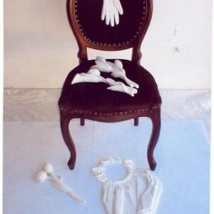 Wedding - Helerman Bat Ami, 2004, White Marble and Wood