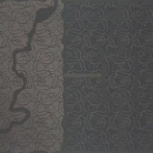 יחזקאל ירדני, ללא כותרת 1993, בטון על בד 160X130