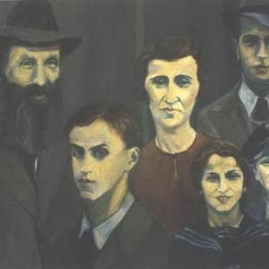 אסף בן צבי, אילם V ,1994 שמן על בד כותנה 51.5 X 127.5