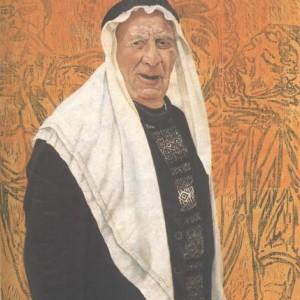פמלה לוי, דיוקן ,1996 שמן על בד 60X80