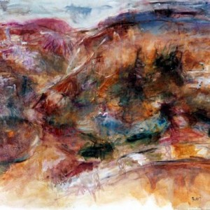 Fleeting moments, 2001 Oil on canvas 110x100cm.