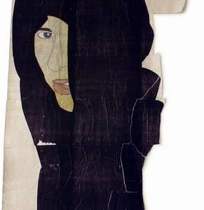 נער מדוזה - מטוס יוחאי, 2007 , הדפס זירוקס ונצנצים