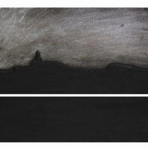 ללא כותרת - מרשה יצחק, 2008, טיט אקרילי על עץ לבוד, 39x32.5