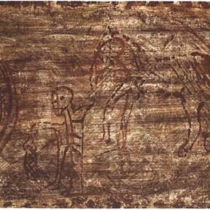 מיתוסים - רוטנברג סידון, 1993-1994, אקווטינטה על נייר, 105x76