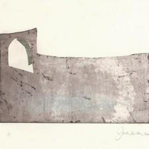 Site Specific - אורסתיו ג'ודי, 2008, תחריט על נייר , 39x29