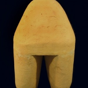 Untitled, 2006, hand made, clay 50x26x15