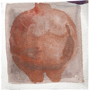 Living Seeds, 2009, Watercolour on paper 9.5X9.5 cm