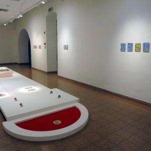מיצב פרויקט מסלול 2: אורזים הולכים 2012,  בית האמנים ירושלים