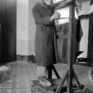 a Boy - new jerusalem, 1908, photography by Ira Yann