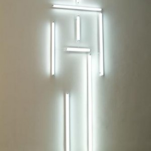 Canopy - Image of God - Fainaru Belu-Simion, 2006, Neon Light