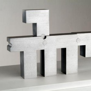 At the edge of the Yud - Segal Zelig, 2006, Aluminum