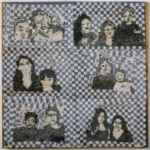 Tutoring - David Wakstein and the Painting Team, 2003-2004, Mosaic mounted on wooden panel