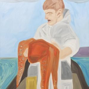 Eyal Gottschalk Levi,Big Catch,2011,Oil on ,canvas, 80X90 cm
