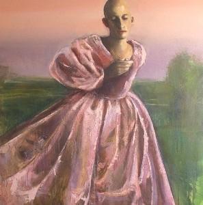 מידד אליהו, כלה,2009, שמן על בד, 142X94 סמ