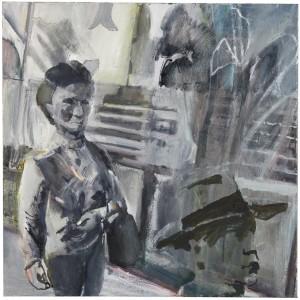 Anne Sassoon, Street, 2013, Oil on canvas