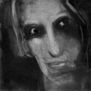 נעמי גפני, מבט, 2013, שמן על בד