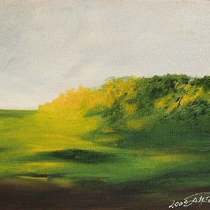 """כרי דשא, 2000, 20.3X25.3 ס""""מ"""