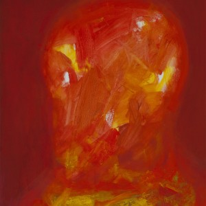 Leonid Zeiger, Skull variations, 2013, oil on canvas, 80X60 cm