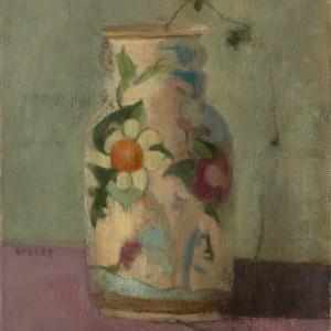 Persian Vase, oil on linen