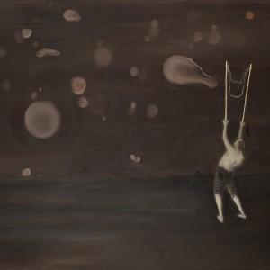 Ronen Siman-Tov, The Bubbles' Blower, 2011, oil on canvas, 100*150 cm