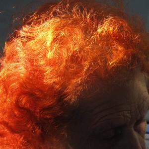 גוסטבו סגורסקי, שיער, 2014, הדפסת דיו על נייר ארכיבי