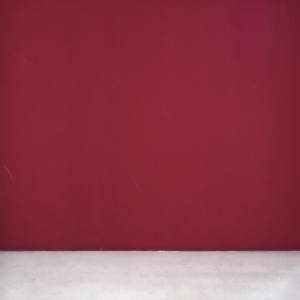 """קיר אדום, 2014, הדפסת הזרקת דיו, 110 110X ס""""מ"""