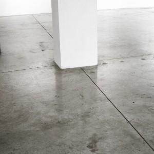 """עמוד לבן, 2014, הדפסת הזרקת דיו,  90 78X ס""""מ"""