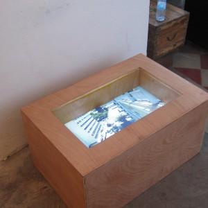 דורון אלטרץ, קופסת זכרון, 2016, ניו מדיה אינסטליישן