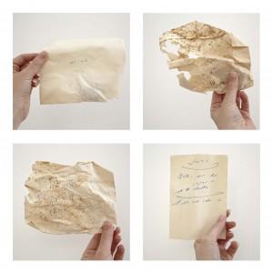 מיכל בראור, ארכאולוגיה של נייר, 2015-2014