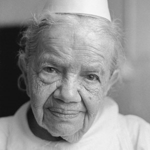Aliza Auerbach, Selma Mayer (Schwester Selma, 1884–1984),head nurse at the Shaare Zedek Hospital, Jerusalem, 1970