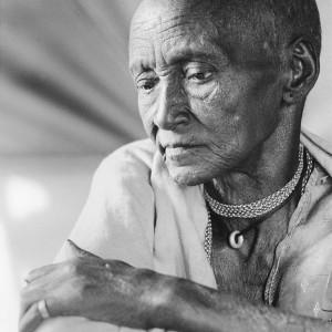 Aliza Auerbach, Ksambanesh Eimzek, Teda transition camp, Ethiopia From the series Aliya (Immigration), 1992