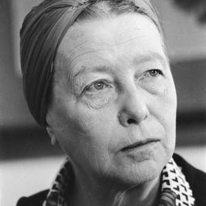עליזה אורבך, סימון דה בובואר (1908–1986), 1975