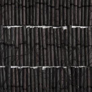 הרשימה השחורה, 2016, נייר מטופל, 4x3.5 מטר