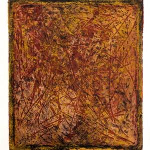 Ma'adanot, 2017, etching, 34x50cm