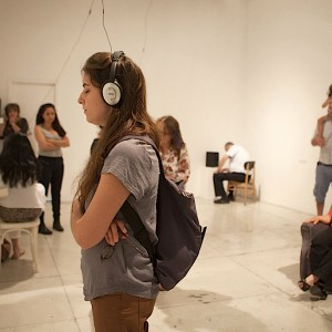The Sleeptalkers (Israel), 2014, multi-channel sound installation (Installation documentation)