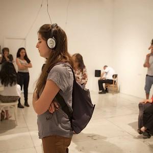מיטל קובו, המדברים בשנתם (ישראל), 2015, תעוד מיצב 4