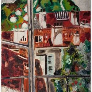 Untitled, 1965, oil on canvas, 80x65 cm