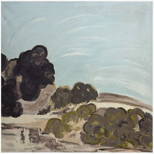 Untitled, 1982, oil on canvas, 90x90 cm