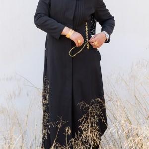 מרואה עבד אלקדר, דיוקן עצמי, 2018, מיצג
