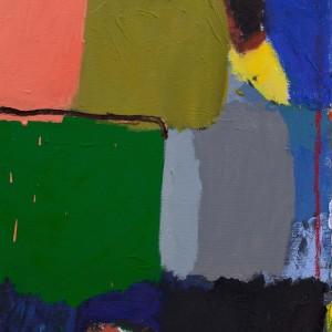יערה אורן, ציור, 2017, שמן על בד