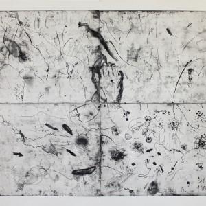 Maria Saleh Mahameed, Untitled, 2018, etching