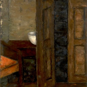 Mira Hermoni Levine, Partial Interior, 2013, oil on canvas, photo: Gregory Khatin