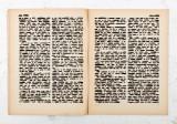 גדעון רובין, הספר השחור, עמ' 76-77, 2017, גואש על נייר,  צילום ריצ'רד איווי Gideon Rubin, Black Book, p. 76-77, 2017, Gouache on paper, photo Richard Ivey