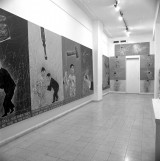 Exhibition at Gimel Gallery Ryoram Merose: Reinforcing the Action of the Muscles 1983 Mixed media Photograph: Yoram Lehman