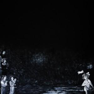 רות נורמן, פיתוי, 2021, טיפקס על נייר, צלם לאון צרפתי